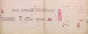 Situationsplan von 1853