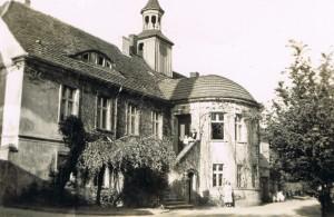 Das Herrenhaus um 1932/33