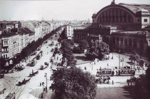 Anhalter Bahnhof mit Askanischem Platz um 1910